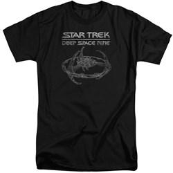 Star Trek - Mens Ds9 Station Tall T-Shirt