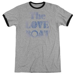 Love Boat - Mens Distressed Ringer T-Shirt