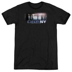 CSI - Mens New York Subway Ringer T-Shirt