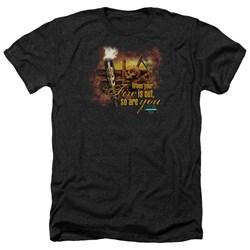 Survivor - Mens Fires Out Heather T-Shirt