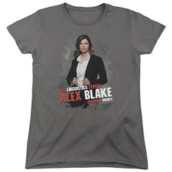 Criminal Minds - Womens Alex Blake T-Shirt
