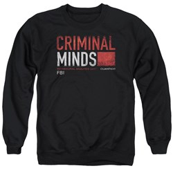Criminal Minds - Mens Title Card Sweater