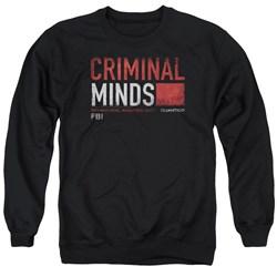 Criminal Minds - Mens Title Card Sweater