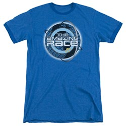 Amazing Race - Mens Around The Globe Ringer T-Shirt