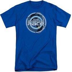 Amazing Race - Mens Around The Globe Tall T-Shirt