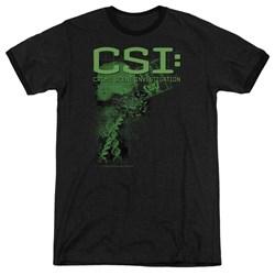 CSI - Mens Evidence Ringer T-Shirt