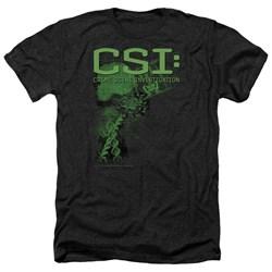 CSI - Mens Evidence Heather T-Shirt