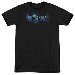Amazing Race - Mens Faded Globe Ringer T-Shirt