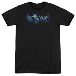 Amazing Race - Mens Faded Globe Ringer T-Shirt
