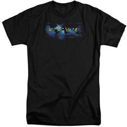 Amazing Race - Mens Faded Globe Tall T-Shirt