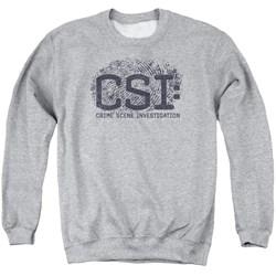 CSI - Mens Distressed Logo Sweater