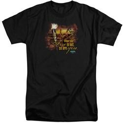 Survivor - Mens Fires Out Tall T-Shirt