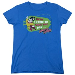 Mighty Mouse - Womens Here I Come T-Shirt