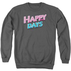 Happy Days - Mens Happy Days Logo Sweater