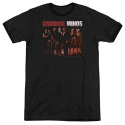 Criminal Minds - Mens The Crew Ringer T-Shirt