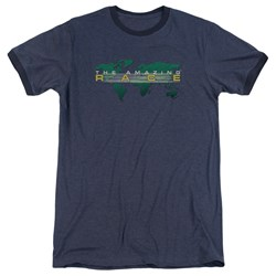 Amazing Race - Mens Around The World Ringer T-Shirt