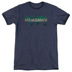 Amazing Race - Mens Around The World Ringer T-Shirt