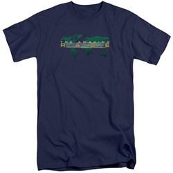 Amazing Race - Mens Around The World Tall T-Shirt