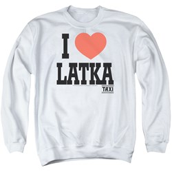 Taxi - Mens I Heart Latka Sweater