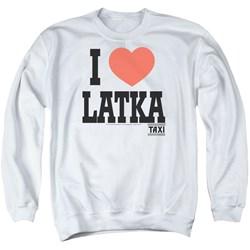 Taxi - Mens I Heart Latka Sweater