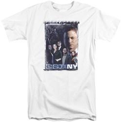 Csi Ny - Mens Watchful Eye Tall T-Shirt