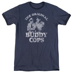 Andy Griffith - Mens Buddy Cops Ringer T-Shirt