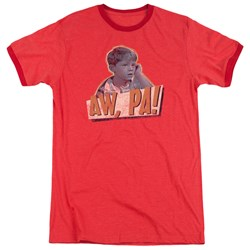Andy Griffith - Mens Aw Pa Ringer T-Shirt