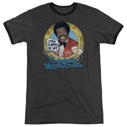 Love Boat - Mens Original Booze Cruise Ringer T-Shirt