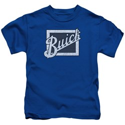 Buick - Little Boys Distressed Emblem T-Shirt