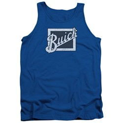 Buick - Mens Distressed Emblem Tank Top