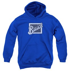 Buick - Youth Distressed Emblem Pullover Hoodie