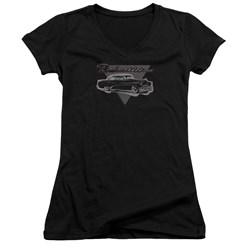Buick - Juniors 1952 Roadmaster V-Neck T-Shirt
