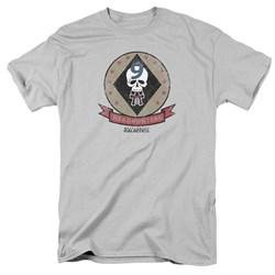 Battlestar Galactica - Mens Headhunters Badge T-Shirt