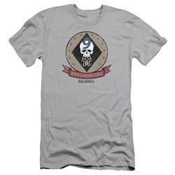 Battlestar Galactica - Mens Headhunters Badge Premium Slim Fit T-Shirt