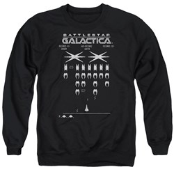 Battlestar Galactica - Mens Galactic Invaders Sweater