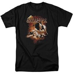 Battlestar Galactica - Mens Vipers Stretch T-Shirt