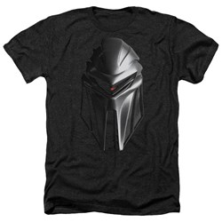 Battlestar Galactica - Mens Cylon Head Heather T-Shirt