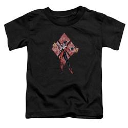 Batman - Toddlers Harley Quinn (Diamonds) T-Shirt
