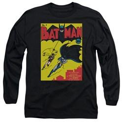 Batman - Mens Batman First Long Sleeve T-Shirt