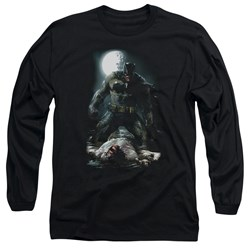Batman - Mens Mudhole Long Sleeve T-Shirt
