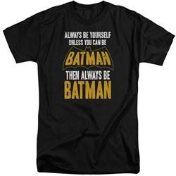 Batman - Mens Be Batman Tall T-Shirt