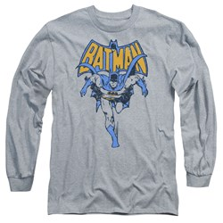 Batman - Mens Vintage Run Long Sleeve T-Shirt
