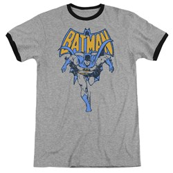 Batman - Mens Vintage Run Ringer T-Shirt