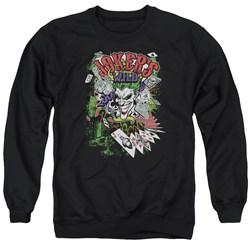 Batman - Mens Jokers Wild Sweater