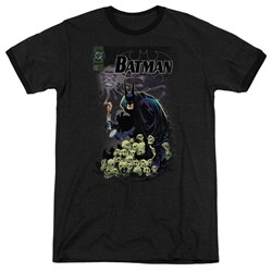 Batman - Mens Cover #516 Ringer T-Shirt