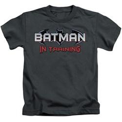 Batman - Little Boys Batman In Training T-Shirt