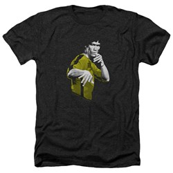 Bruce Lee - Mens Suit Of Death Heather T-Shirt