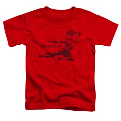 Bruce Lee - Toddlers Line Kick T-Shirt