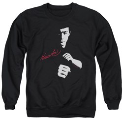 Bruce Lee - Mens The Dragon Awaits Sweater