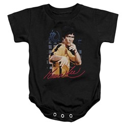 Bruce Lee - Toddler Yellow Jumpsuit Onesie